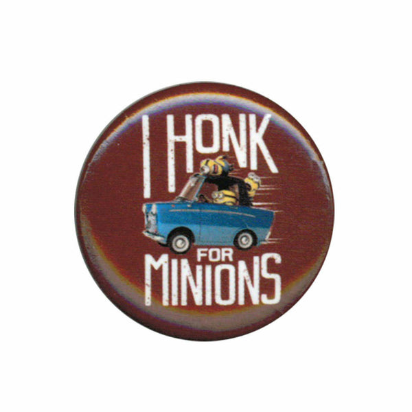 Despicable Me Minions I Honk For Minions 1.25 Inch Button