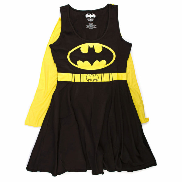DC Comics Batman Logo Juniors Cape Dress