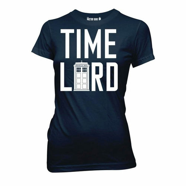 Doctor Who Time Lord Juniors Navy Blue T-Shirt