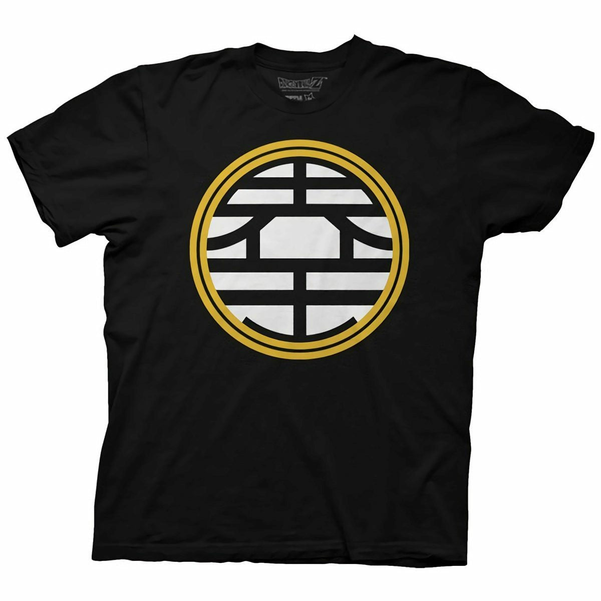 Dragon Ball Z King Kai Symbol Mens Black T-Shirt