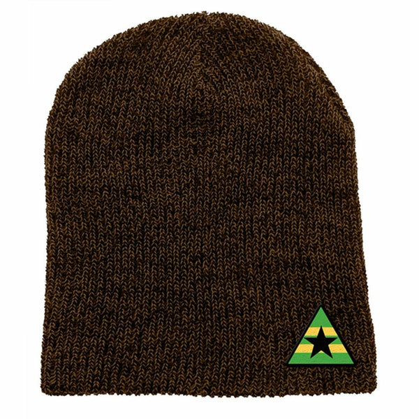 Firefly Browncoats Triangle Logo Knit Beanie Hat