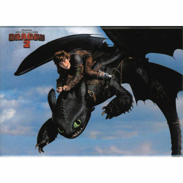 How To Train Your Dragon 2 Hiccup and Toothless Dragon Rider Magnet
