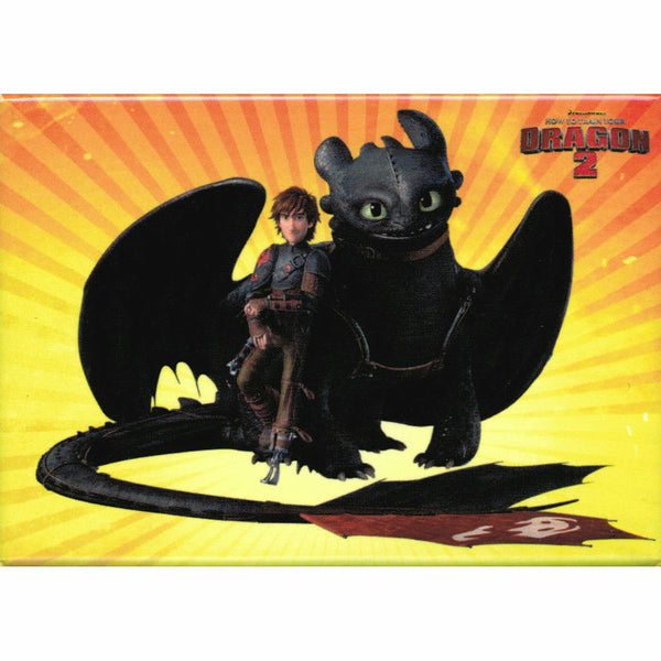 How To Train Your Dragon 2 Hiccup and Toothless Magnet