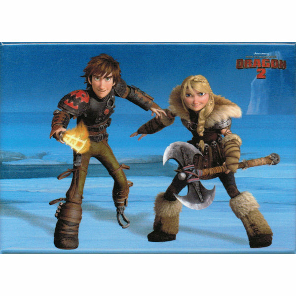 How To Train Your Dragon 2 Astrid and Hiccup Magnet