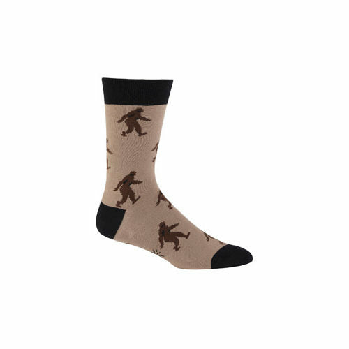 Sock It To Me Sasquatch Mens Crew Socks