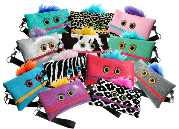 Monster Money Money Pouch Wristlet (1 Random)