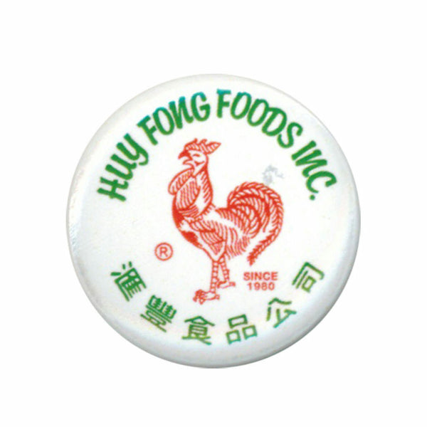 Huy Fong Foods Inc. Sriracha 1.25 Inch White Button