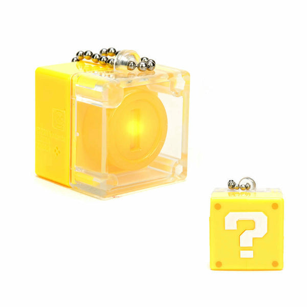 Super Mario 3D Land Light Up Coin Box Keychain - Coin