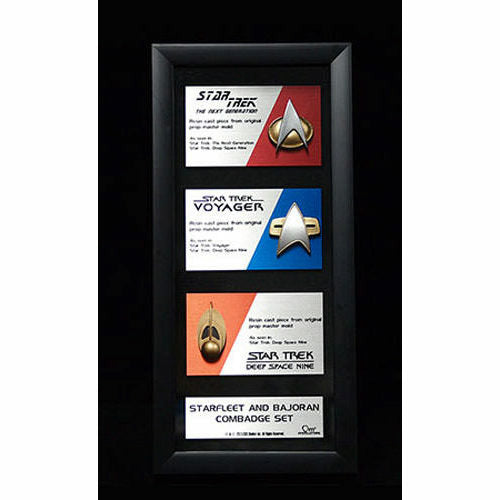 Star Trek Communications Badge Replica Set Artisan Edition