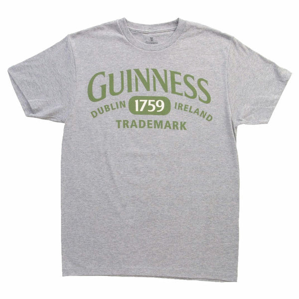 Guinness 1759 Men's Grey T-Shirt