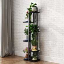 Load image into Gallery viewer, Standing Tiered Plant Shelf