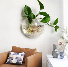 Load image into Gallery viewer, Transparent Wall Hanging Fish Bowl