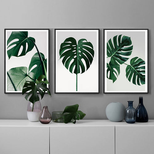 Monstera Wall Art