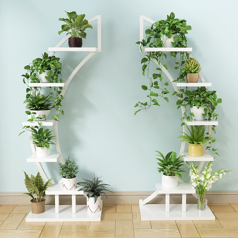 Curved Plant Shelf