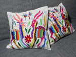 Housse Otomi - Cerfs multicolores - Hecho a Mano