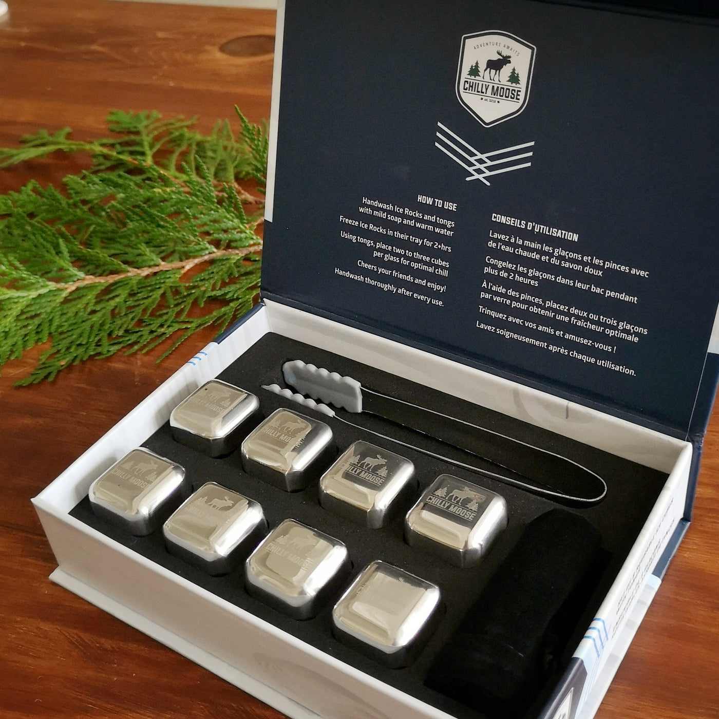 Little Joe Flasks - Cranberry, Pine and Copper
