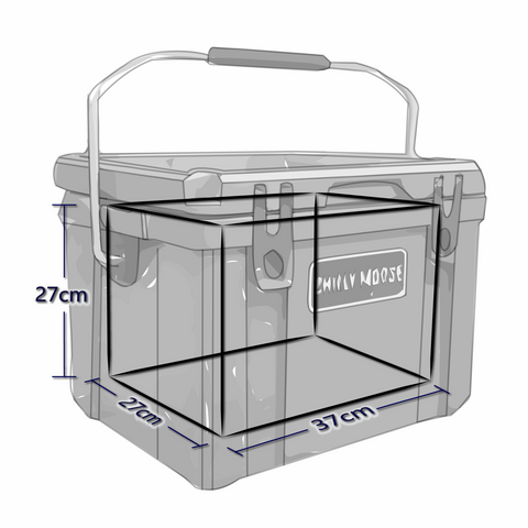 Interior Dimensions For 25 Liter Chilly Ice Box Cooler