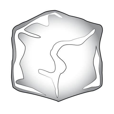 Small icon image of an ice cube