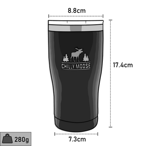 Chilly Moose Killarney Tumbler Dimensions