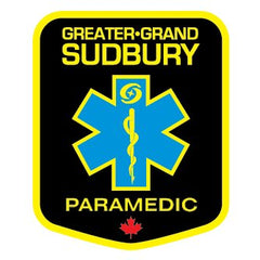 Greater Sudbury Paramedic Services badge