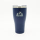 Front view of the 30oz Georgian tumbler in Navy
