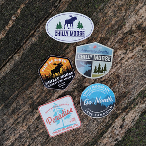 Chilly Moose Sticker 5-Pack