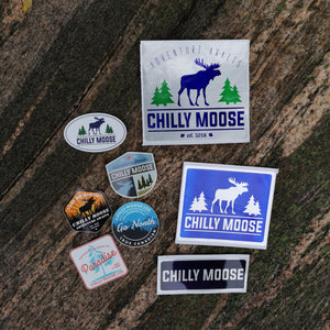 Chilly Moose Complete Sticker Pack