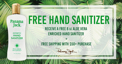 Keep the Hands Clean with Free Hand Sanitizer