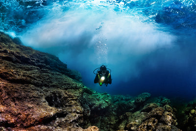 Dive An Underwater Volcano at Mahengetang, Indonesia