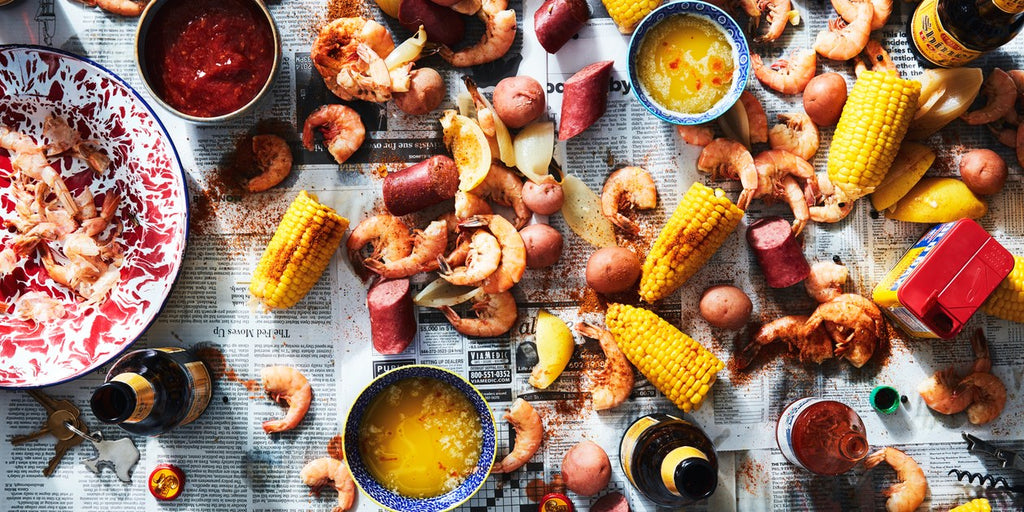 lowcountry boil shrimp corn sausage