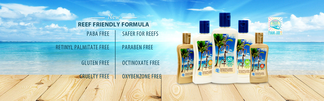 Panama Jack Suntan and Sunscreen Lotions
