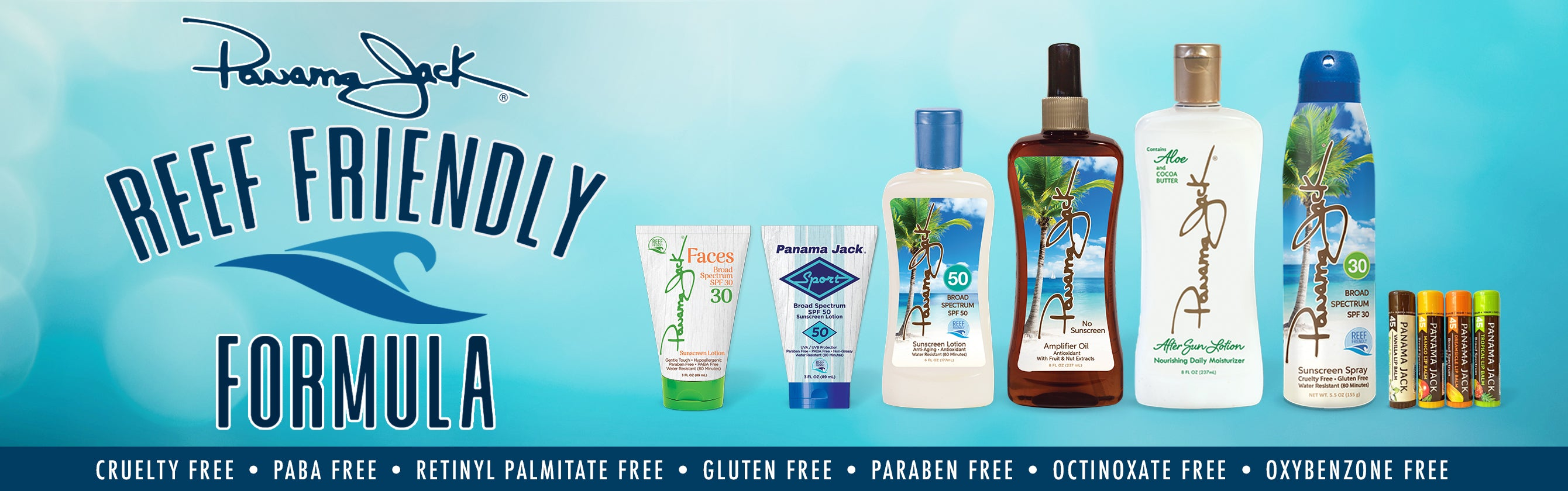 Panama Jack Suntan and Sunscreen Products