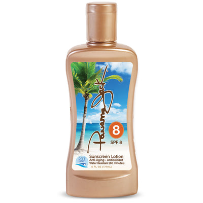 SUNSCREEN LOTION SPF 8