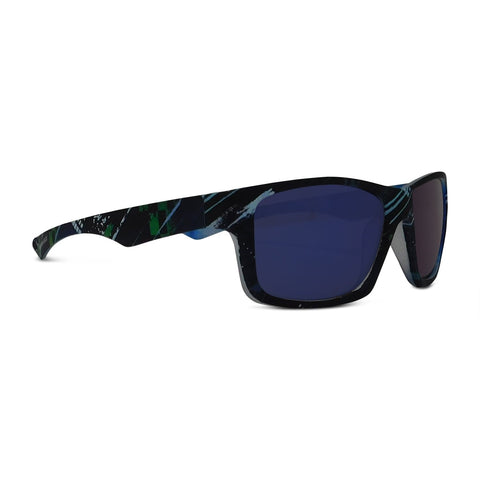 Kids Rectangle Multi Pattern Sunglasses