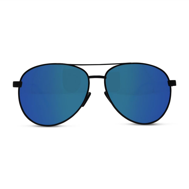 Polarized Matte Aviator Sunglasses