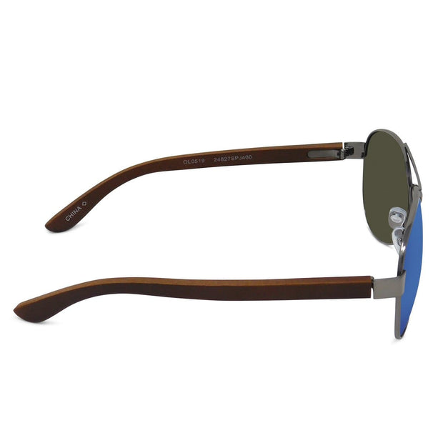 Premium Polarized Aviator Mirror Sunglasses