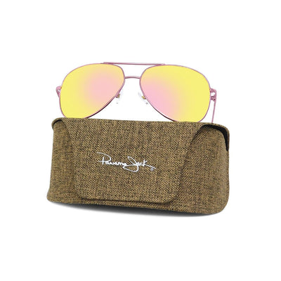Premium Polarized Rose Gold Aviator Sunglasses