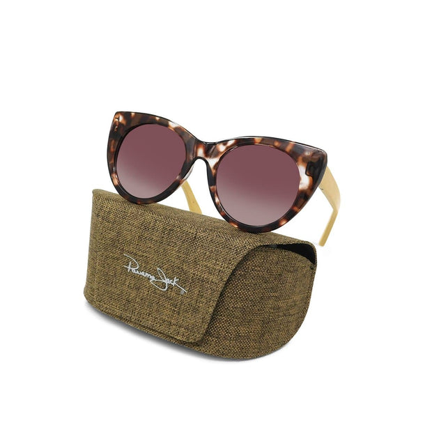 Premium Polarized Tort Cat Eye Sunglasses