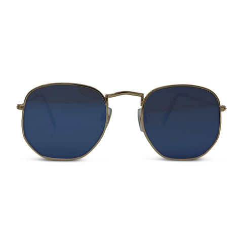 Classic Hexagon Mirror Surf Sunglasses