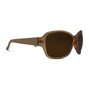 Polarized Brown Mirror Rectangle Sunglasses