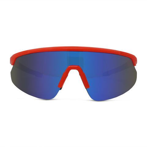 Retro Sport Shield Performance Sunglasses
