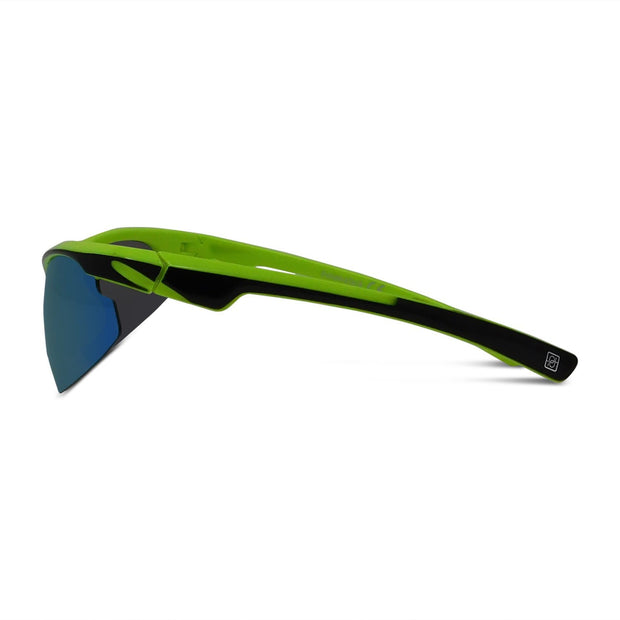 Kids Semi-Rimless Sport Wrap Sunglasses