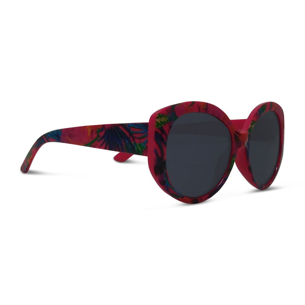 Kids Tropical Oval Large Frame Sunglasses