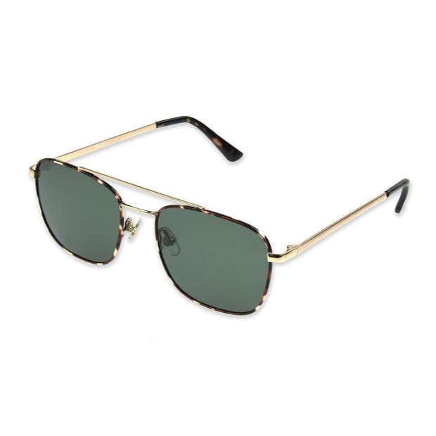 Premium Polarized Metal Square Sunglasses