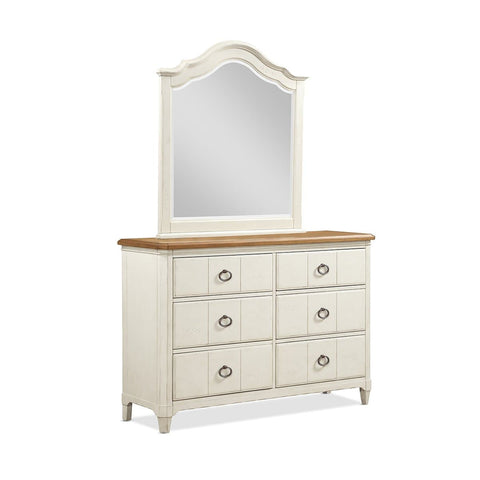 Millbrook Bedroom Youth Dresser and Mirror