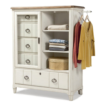 Millbrook Bedroom Sliding Glass Door Chest
