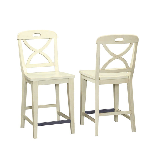 Millbrook Dining Buttermilk Finish Counter Height Stool (Set of 2)