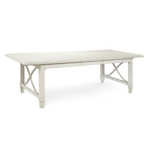 Millbrook Buttermilk Finish Rectangular Dining Table