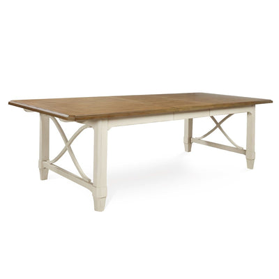 Millbrook Two-Tone Rectangular Dining Table