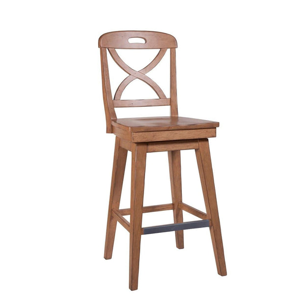 Millbrook Dining Soft Sand Finish Swivel Bar Stool